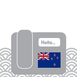 New Zealand - Toll Free (extension)